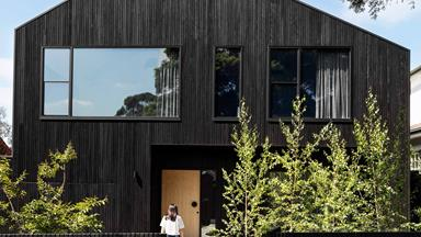 A modern barn-inspired family home in Camberwell