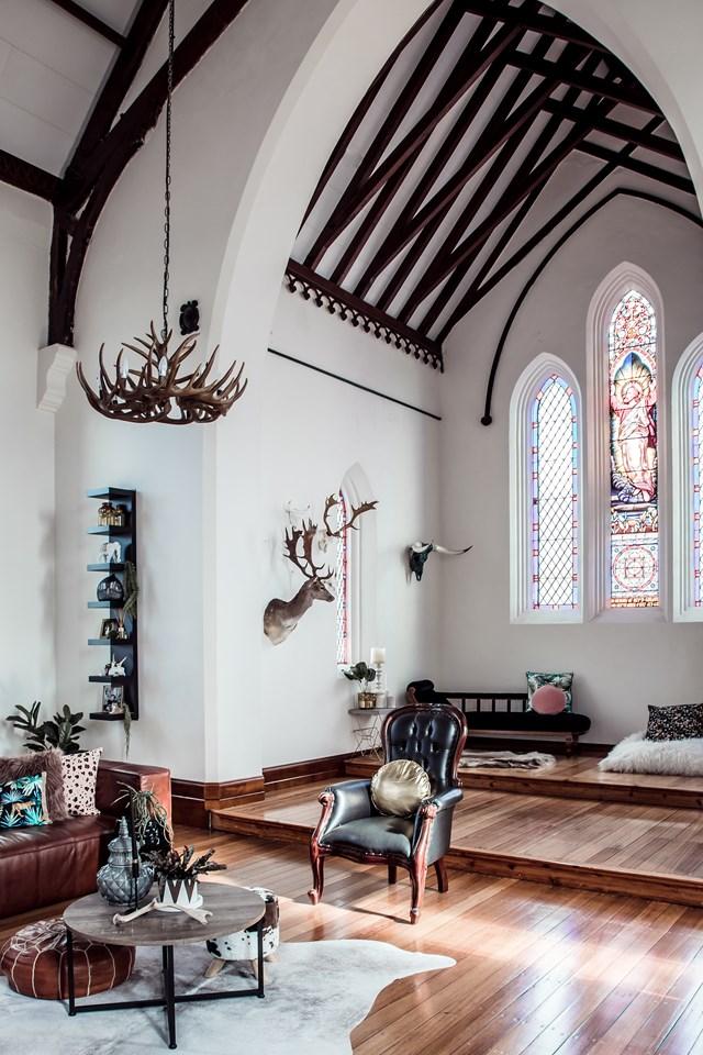 A converted church home in Perth, Tasmania.