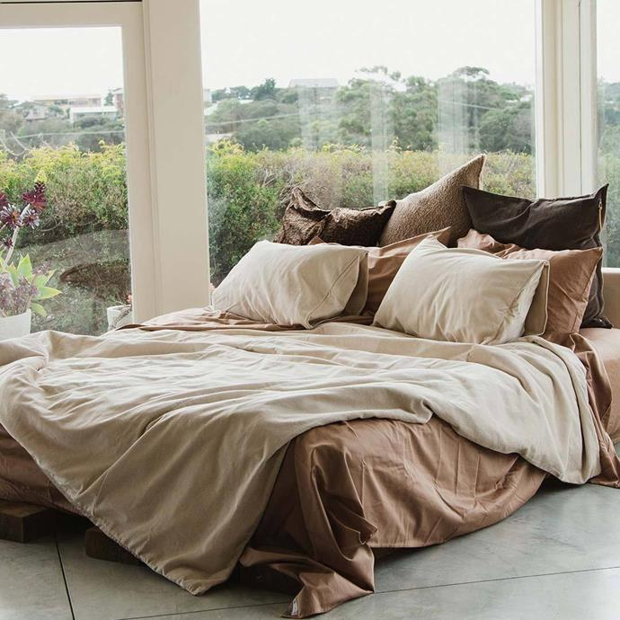 "Darcy Corduroy Sheet, Queen in Nude, $75, [The Sheet Society](https://www.thesheetsociety.com.au/collections/quilt-covers/products/corduroy-quilt-cover-nude?options=9007490435.31167410691.1|target=""_blank"")"