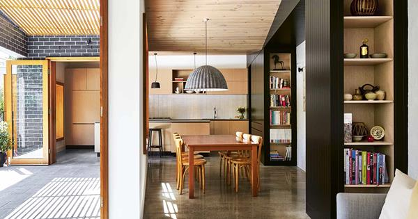 A stunning modern extension of a heritage home