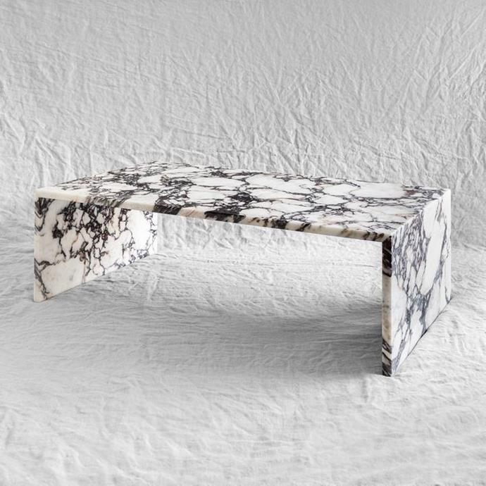 """Viola coffee table, $2,400, [Just Adele](https://www.justadele.com.au/collections/tables/products/viola-coffee-table