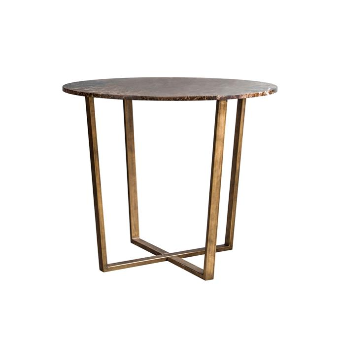 """UNICO Harlow Side Table - Dark Marble, $689, [RJ Living](https://www.rjliving.com.au/buy-harlow-side-table-dark-marble.html