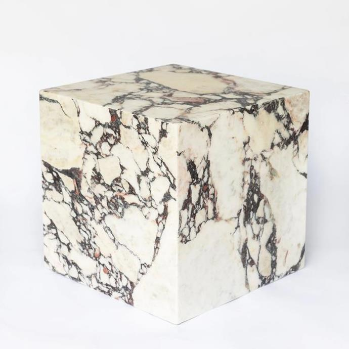 """Cubo, $1,600, [Just Adele](https://www.justadele.com.au/collections/tables/products/cubo