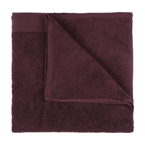https://www.kmart.com.au/product/malmo-cotton-bath-sheet---burgundy/2332346, $10.