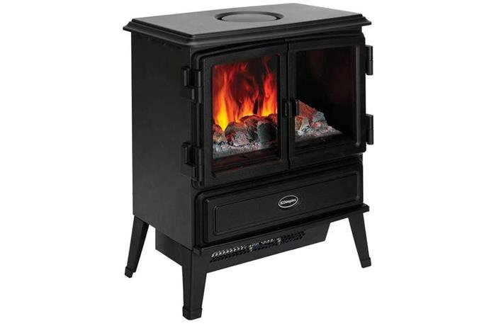 "Dimplex Oakhurst 2kW Electric Portable Stove Heater Fireplace Fire/Smoke Effect, $998, [Dick Smith](https://www.dicksmith.com.au/da/buy/dimplex-oakhurst-electric-fireplace-heater-oakhurst/|target=""_blank""|rel=""nofollow"")"