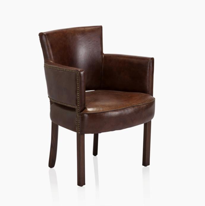 "Timothy Oulton Burlington Chair, $2,095, [Coco Republic](https://www.cocorepublic.com.au/burlington-chair|target=""_blank""|rel=""nofollow"")"