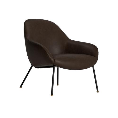 "Felix Leather Armchair, $1,599, [Life Interiors](https://www.lifeinteriors.com.au/life-interiors-felix-leather-armchair|target=""_blank""|rel=""nofollow"")"