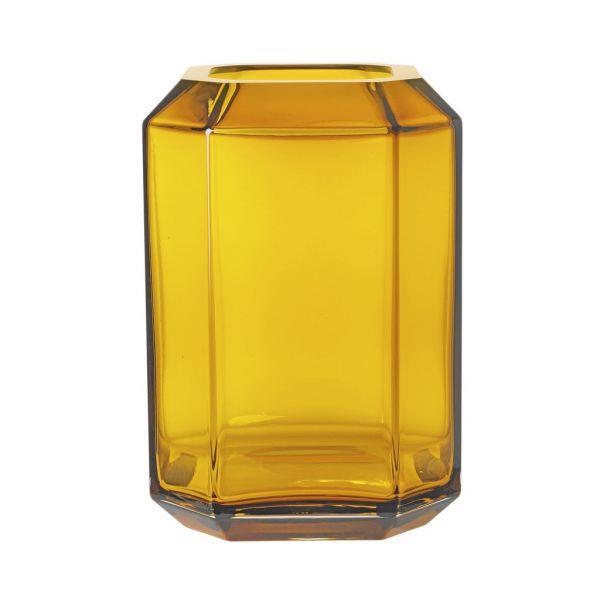 "Jewel Vase Amber Large - Louise Roe, $282, [Spence & Lyda](https://www.spenceandlyda.com.au/jewel-vase-amber-large-louise-roe.html|target=""_blank""|rel=""nofollow"")"