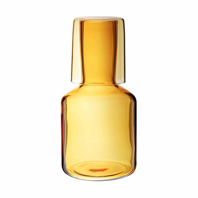 "Maison Balzac Miel Carafe and Glass, $79, [Stem](https://www.stemonline.com.au/products/maison-balzac-miel-carafe-and-glass?variant=31668382760996&currency=AUD&utm_source=google&utm_medium=cpc&utm_campaign=google+shopping&gclid=CjwKCAjw_LL2BRAkEiwAv2Y3SfXT59FOUSt0WgeFn3paJXfcnMywgFdHznqmMCaSO7OlERbOmcYxexoCmnMQAvD_BwE|target=""_blank""|rel=""nofollow"")"