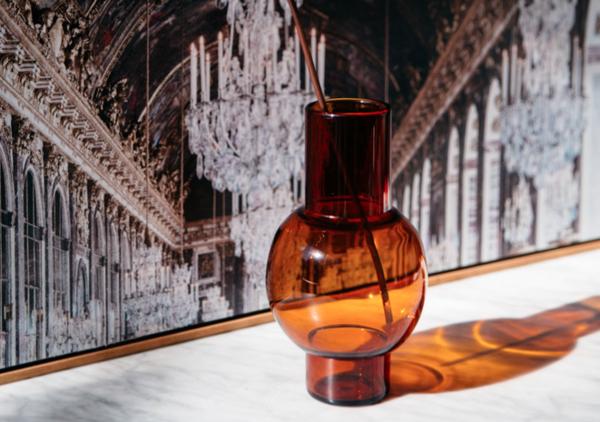 "Loulou Vase Amber, $129, [Maison Balzac](https://www.maisonbalzac.com/products/loulou-vase-amber|target=""_blank""|rel=""nofollow"")"