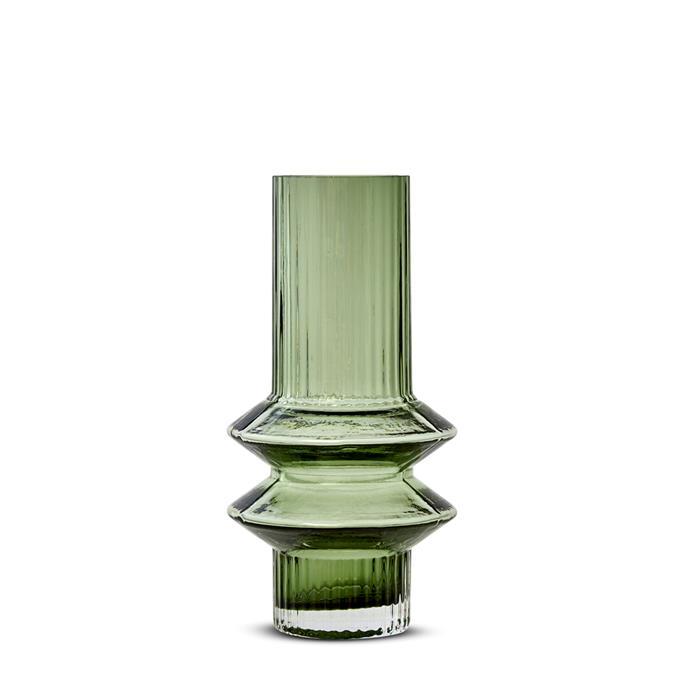"Marmoset Found Memphis Vase Green - Small, $49, [RJ Living](https://www.rjliving.com.au/buy-memphis-vase-green-small.html?gclid=CjwKCAjw_LL2BRAkEiwAv2Y3Saud3USTnCkMgXVHHHBma0PmLvjV2ejEtUl0jKnBov3s71HgjZpWRxoCHf0QAvD_BwE|target=""_blank""|rel=""nofollow"")"