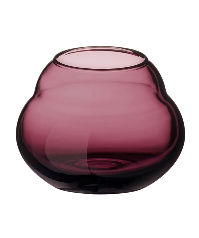 "Jolie Mauve vase/tea light holder, $29.95, [Villeroy & Boch](https://www.villeroy-boch.com.au/shop/jolie-mauve-vase-tea-light-holder.html|target=""_blank""