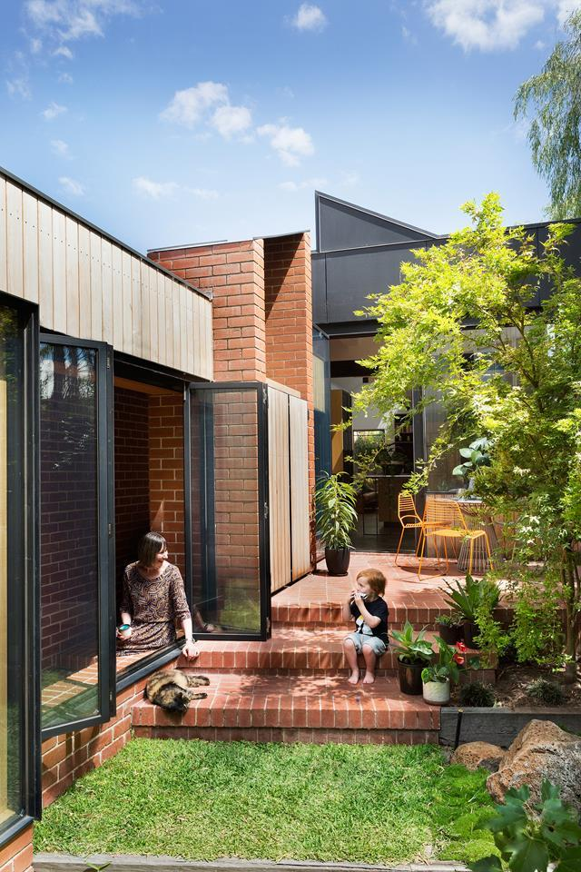 """Much to the homeowners' delight and thanks to Antony Martin of MRTN Architects and builders Technique Construction Group, this [house](https://www.homestolove.com.au/space-savvy-renovation-of-an-old-workers-cottage-5322