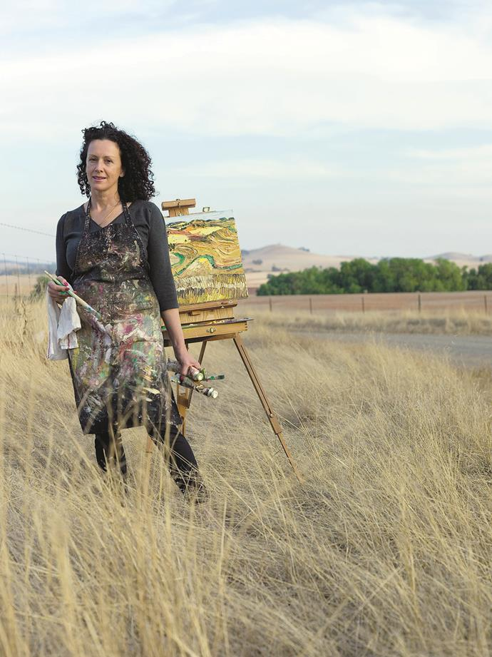 The Barossa is a hub for creatives, including painterJacqueline Coates.
