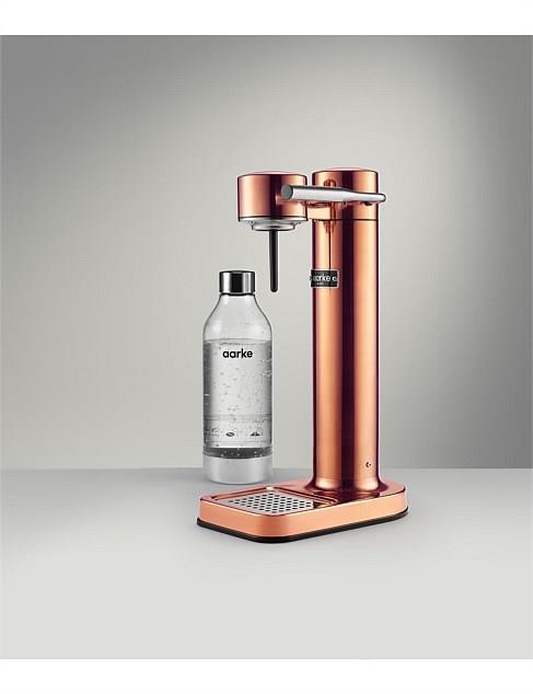 "Aarke Sparkling Water Maker - Copper, $299, [David Jones](https://www.davidjones.com/electrical/small-appliances/22804694/AARKE-Sparkling-Water-Maker---Copper.html|target=""_blank""|rel=""nofollow"")"