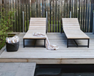 10 swimming pools with timber decking