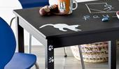 How to paint a child's table with chalkboard paint