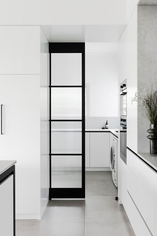 """An awkwardly shaped [kitchen](https://www.homestolove.com.au/minimalist-kitchen-design-21310