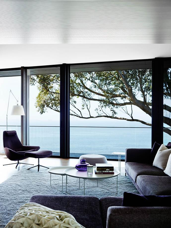 """Sonia Simpfendorfer and Lucy Marczyk of Nexus Designs were then engaged to work on the interior design and decoration of this [contemporary coastal house](https://www.homestolove.com.au/two-for-one-holiday-house-4430