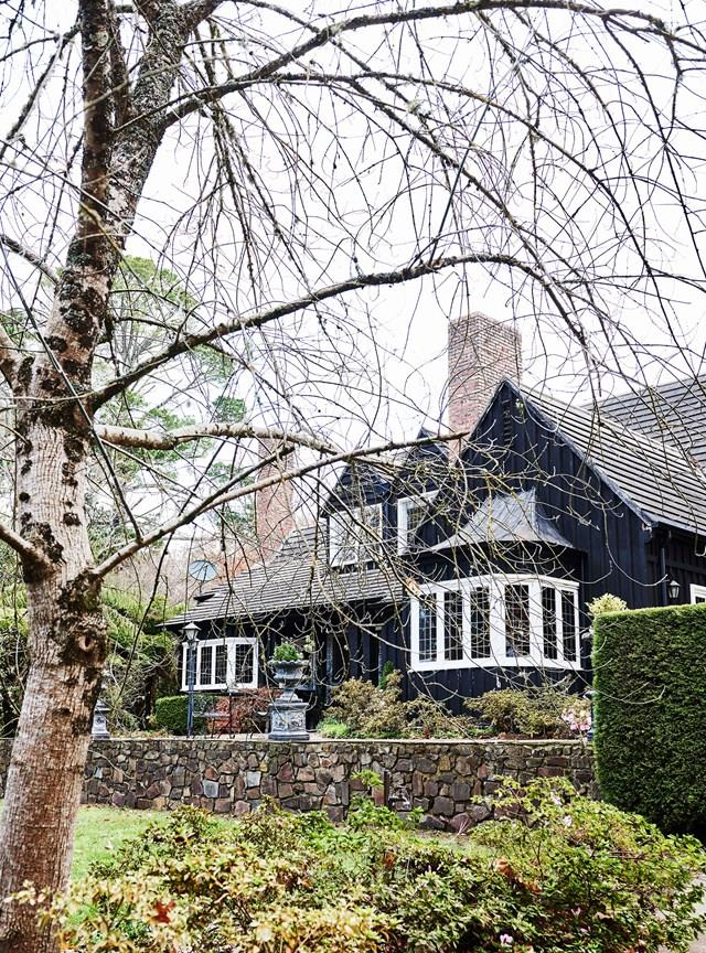 """Television presenter Bridget McIntyre often drove past this [Tudor style mansion](https://www.homestolove.com.au/tudor-style-homestead-australia-20109