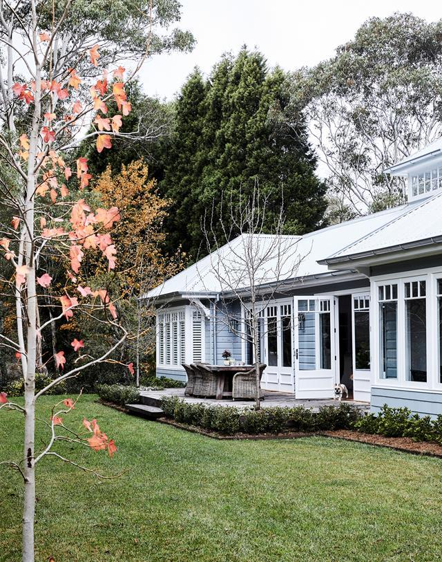 """Timeless colour schemes, aged timbers and antiques all imbue this new [home in the NSW Southern Highlands](https://www.homestolove.com.au/family-home-with-character-in-the-nsw-southern-highlands-20547