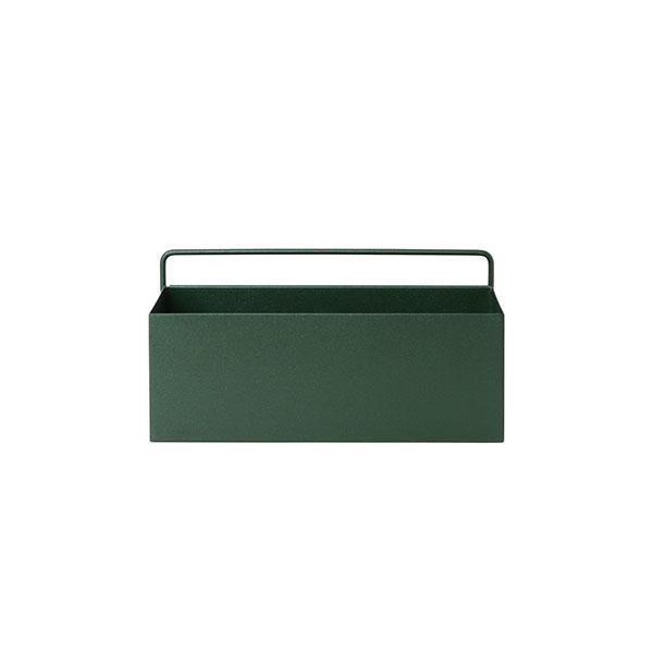 "Ferm Living Metal Wall Box in dark green, $109, [End Clothing](https://www.endclothing.com/au/ferm-living-regtangular-wall-box-fl-3350.html?173=one-size&gclid=CjwKCAjwq832BRA5EiwACvCWsbFRLpMJYNj71kX-Y92EAJ0tudZjx3bhqiemp2bZaUTzOwV_miVdFRoCaV8QAvD_BwE target=""_blank"" rel=""nofollow"")"