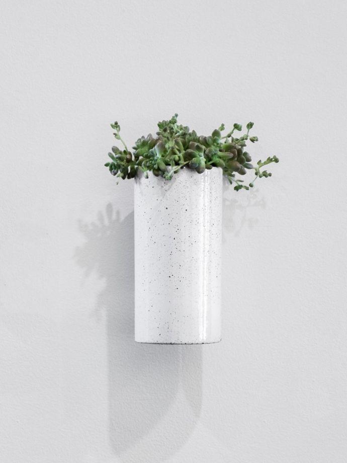 "Ash Embers Wall Planter Large by Zakkia, $95, [Aura Home](https://www.aurahome.com.au/zakkia-embers-wall-planter-large-ash target=""_blank"" rel=""nofollow"")"