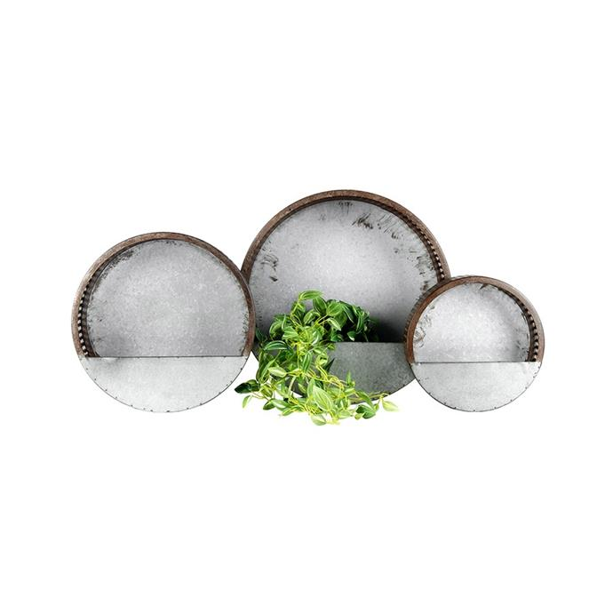 """Set of 3 Nested Elemental Hole-Punched Wall Planters, $150, [Sproutwell Greenhouses](https://sproutwellgreenhouses.com.au/product/set-of-3-nested-elemental-hole-punched-wall-planters-2/ target=""""_blank"""" rel=""""nofollow"""")"""