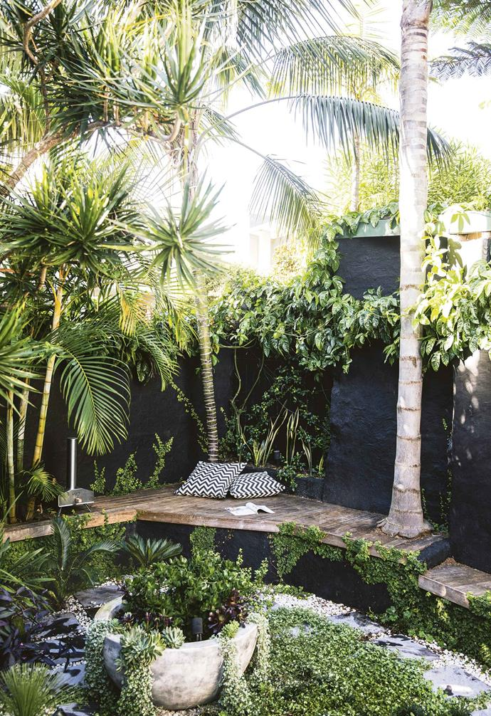 "The courtyard of this [relaxed terrace in Paddington](https://www.homestolove.com.au/relaxed-terrace-paddington-18366|target=""_blank"") was completely transformed with the addition of a wrap-around deck and sunken garden which is now the central feature."