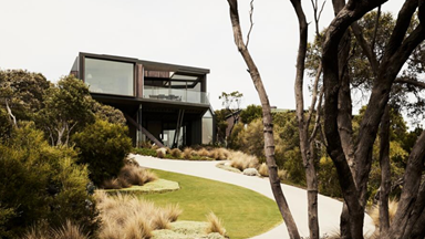 A contemporary coastal home inspired by the surrounding landscape