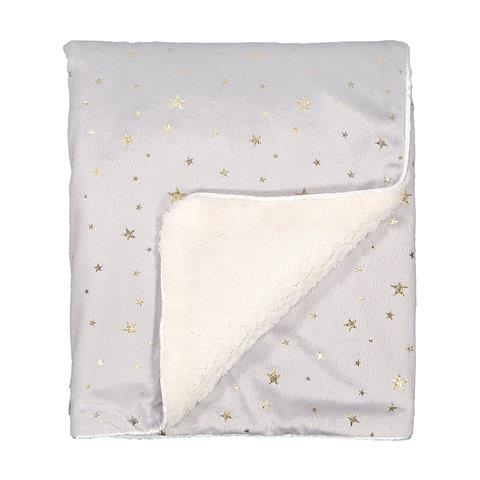 "[Plush Blanket](https://www.kmart.com.au/product/plush-blanket---grey-stars/2958329|target=""_blank"") - Grey Stars, $10"