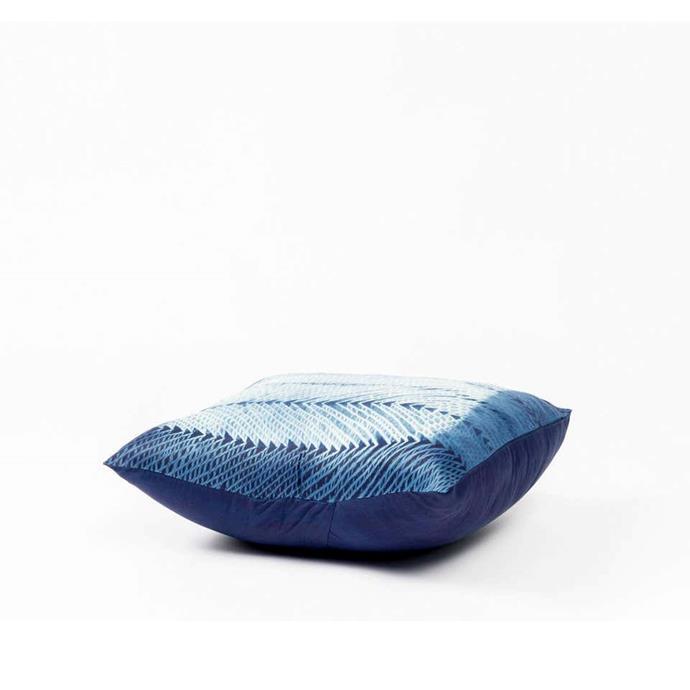 "ARA Indigo Shibori Silk Pillow, $121.44, [1st dibs](https://www.1stdibs.com/furniture/more-furniture-collectibles/textiles/pillows-throws/ara-indigo-shibori-silk-pillow/id-f_13635572/?&currency=aud&gclid=CjwKCAjw5vz2BRAtEiwAbcVIL59EAEs_qpK7935beBc-D9NPLR2Az7eYaAX2ygJMPOO5ElYaUKM-HBoCGd4QAvD_BwE&gclsrc=aw.ds|target=""_blank""|rel=""nofollow"")"