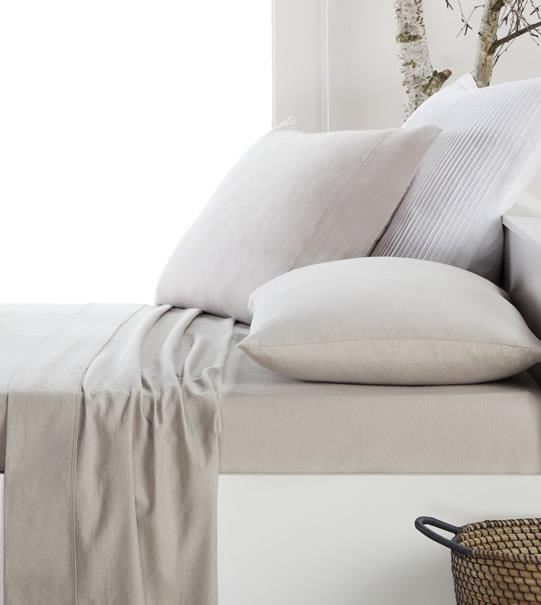 "**Latte Flannelette by Dwell, $89, [Cotton Box](https://www.cottonbox.com.au/brands/dwell/latte-flannelette|target=""_blank""