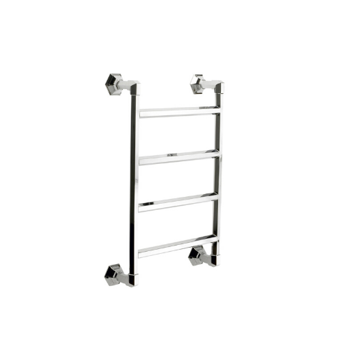 "Hawthorn Hill towel warmer in Chrome, [englishtapware.com.au](https://www.englishtapware.com.au/journal/hawthorn-hill-new-traditional-collection|target=""_blank""