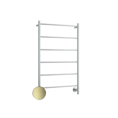 "S60SSB heated towel ladder in Brushed Brass, [thermogroup.com.au](https://www.thermogroup.com.au/product/s60sbb-brushed-brass-straight-round-ladder-heated-towel-rail/|target=""_blank""