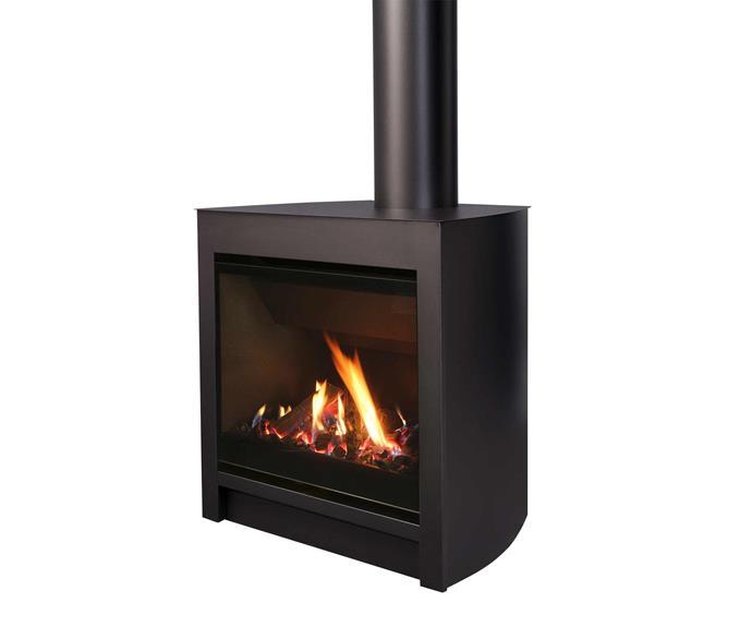 "Freestanding gas fire, $4999 (excluding flue and installation), [Escea](https://www.escea.com/au/|target=""_blank""|rel=""nofollow"")."