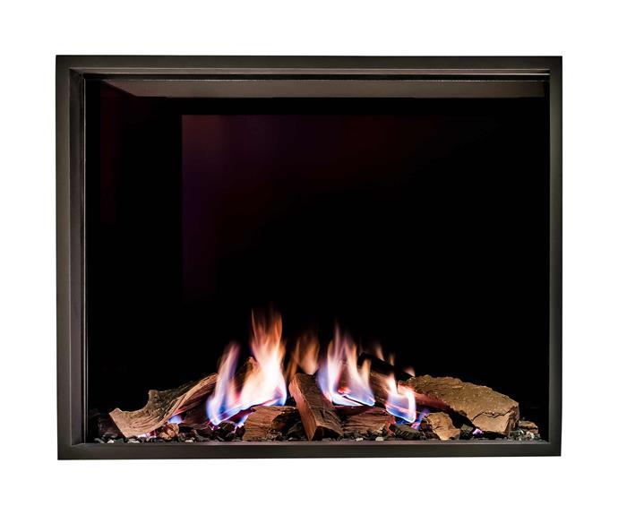 "MODE gas fireplace, POA, [Stoke Fireplace Studio](https://www.stokefires.com/au/|target=""_blank""|rel=""nofollow"")."