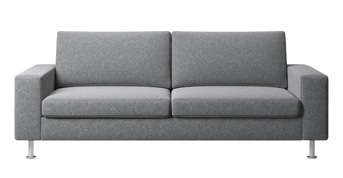 """**Indivi sofa bed in Light Grey Lux Felt, $7019, [BoConcept](https://www.boconcept.com/en-au/indivi/4205094SL332310.html#q=indivi