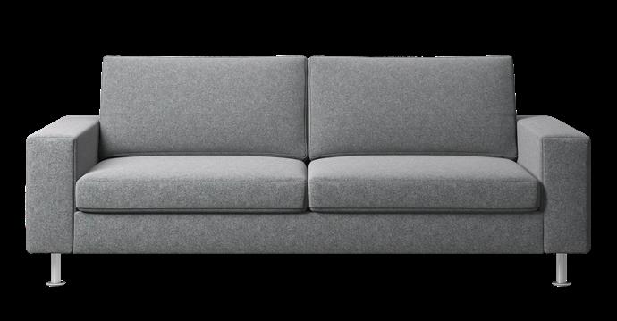 "Indivi sofa bed in Light Grey Lux Felt, $7019, [BoConcept](https://www.boconcept.com/en-au/|target=""_blank""|rel=""nofollow"")."