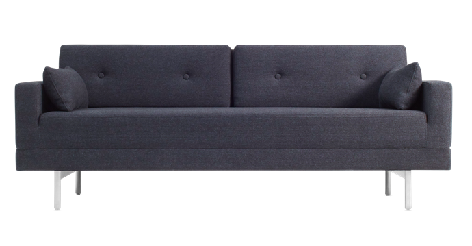 """**One Night Stand Sleeper sofa in Edwards Navy, $2999, [Blu Dot](https://www.bludot.com.au/one-night-stand-sleeper-sofa-3.html