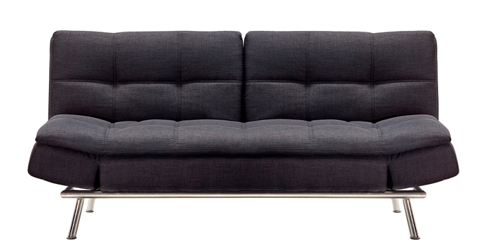 "Tocoa Click Clack sofa bed in Fabric, $899, [Harvey Norman](https://www.harveynorman.com.au/|target=""_blank""
