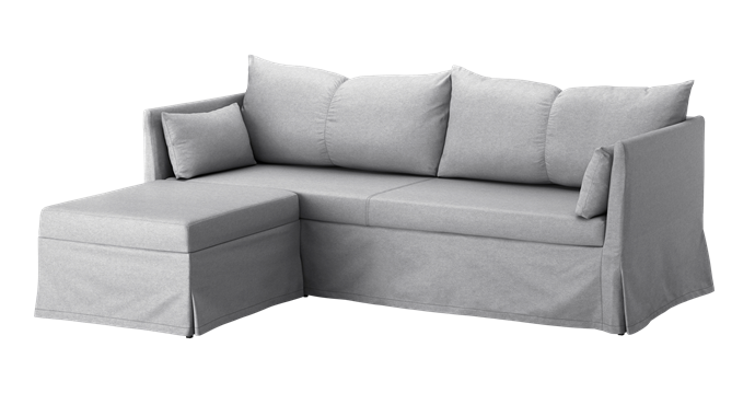 """**Sandbacken corner sofa bed in Frillestad Light Grey, $579, [IKEA](https://www.ikea.com/au/en/p/sandbacken-corner-sofa-bed-frillestad-light-grey-s99217897
