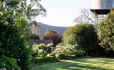 A century-old rural garden shaped by three generations