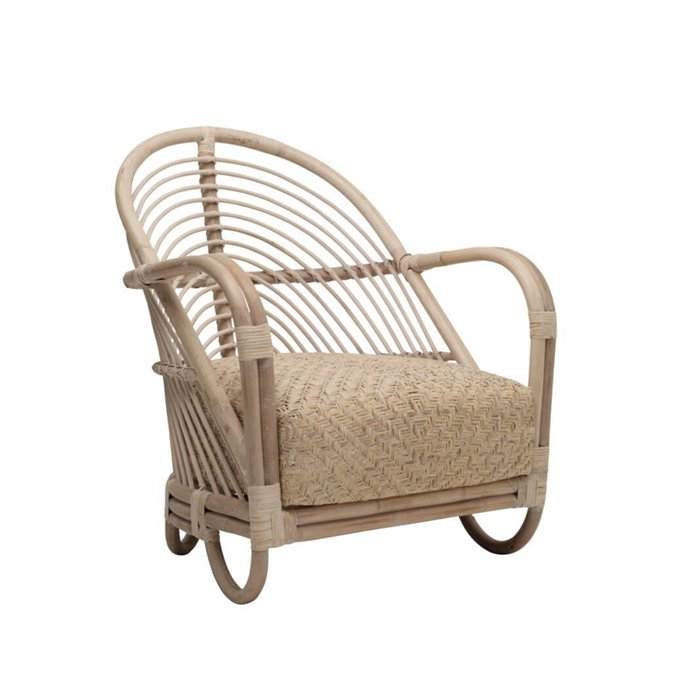 "**Martini Chair, $899** This elegant indoor-outdoor chair showcases beautifully showcases the appeal of rattan.The natural rattan frame is complemented by a woven-rattan, foam filled seat cushion. Artisan-crafted, it's ideal for creating a coastal vibe. [ozdesignfurniture.com.au](https://ozdesignfurniture.com.au/martini-chair-in-rattan-white-wash|target=""_blank""