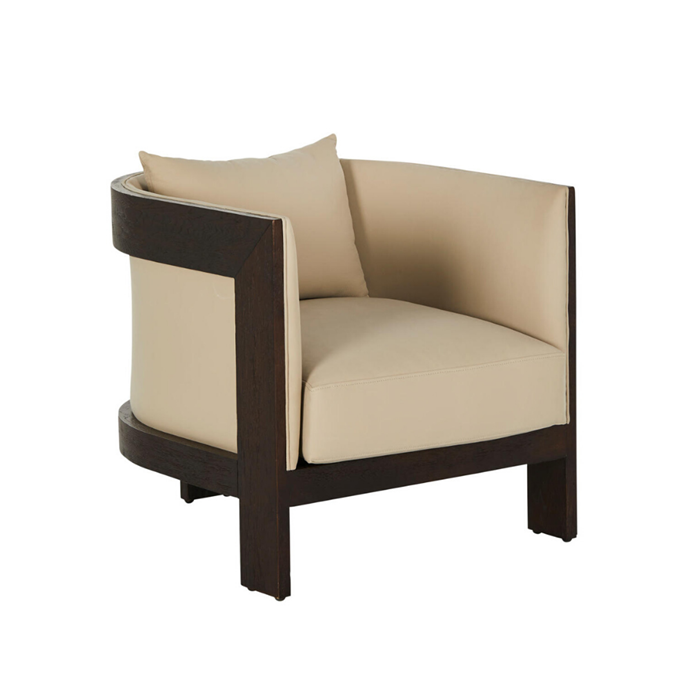 **Poho occasional Chair, from $2695**  A simple yet striking tub chair, this design features a solid 