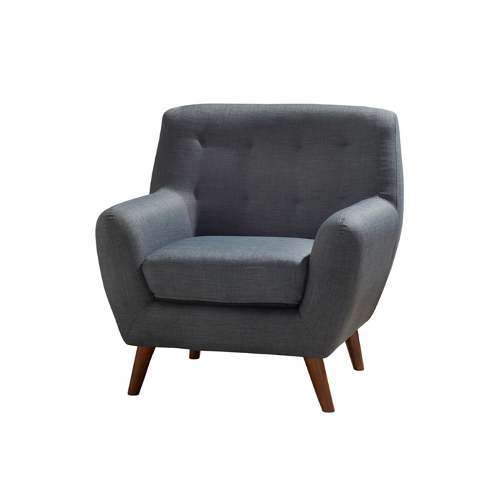 "**Casey Armchair, POA** With its deep seat, plush cushioning and dark, neutral polyester upholstery, this classic armchair is both comfortable and elegant. It has timber legs, a pocket-sprung and foam-filled seat and a foam-filled back cushion. Other colours available. [harveynorman.com.au](https://www.harveynorman.com.au/casey-fabric-armchair.html|target=""_blank""