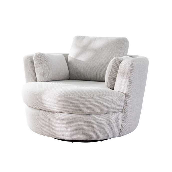 "**Snuggle Petite Swivel Chair, $1799** A sumptuous spot to curl up with a book and a cup of tea (or glass of wine), this generously sized swivel chair features a timber frame, poly-fibre filled cushions and it's covered in Mondo polyester fabric, pictured here in Almond. [plush.com.au](https://www.plush.com.au/occasional-chairs/snuggle-petite-chair#selection.cover=VOGMAOSLV&selection.size=Swivel%20petite%20chair|target=""_blank""