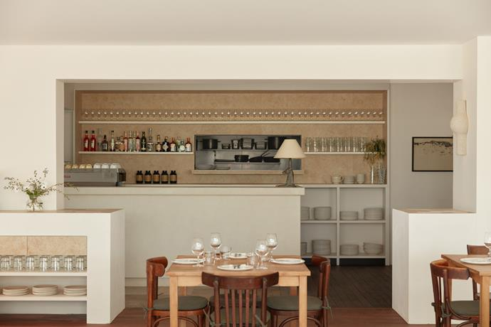 """Olivia's favourite feature is the fibreglass bar with tile inlay. """"No one knew if it would work, so it was incredibly satisfying when it was finished,"""" she says."""