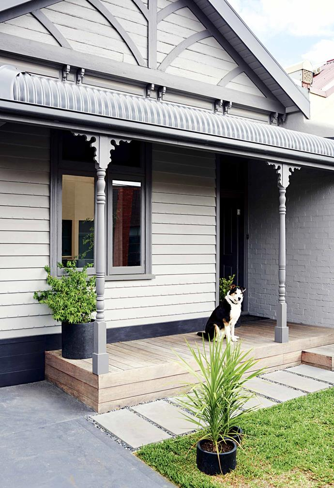 "For the mother-and-daughter team's dream to become a reality, the home needed some extreme TLC. ""We needed to [retain the historic Victorian terrace, keeping the facade](https://www.homestolove.com.au/victorian-facades-20693