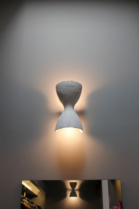 "Hourglass Wall Light, POA, [Anna Charlesworth](https://www.annacharlesworth.com.au/hourglass-wall-light/|target=""_blank""